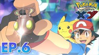 Pokémon the Series: XY| EP06 Battling On Thin Ice! | Pokémon Asia ENG