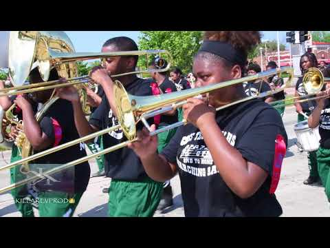 Cass Technical High School @ the 2018 St. Claire Shores Memorial Day Parade
