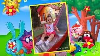 Фильм-поздравление дочке на 2 годика