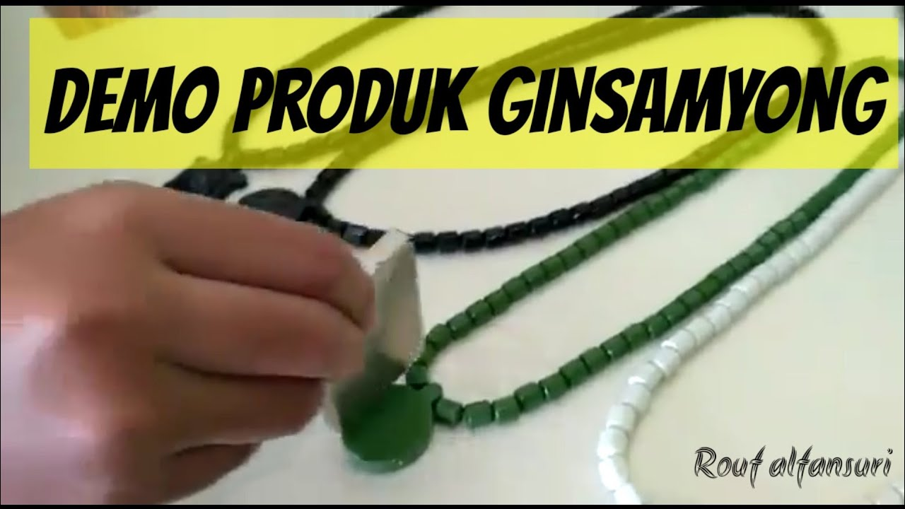 Tes Ginsamyong Mengunakan Betadin Asli 100 Youtube Kalung Kesehatan