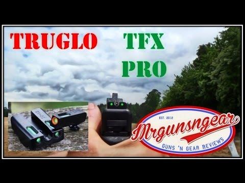 TruGlo TFX PRO Tritium & Fiber Optic Sights Review (HD)