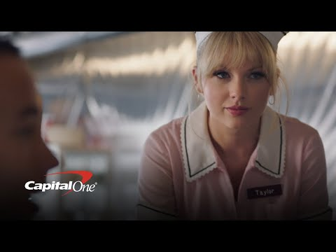 Kobi - Taylor Swift Stars In A New Capital One Savor Card Commercial!