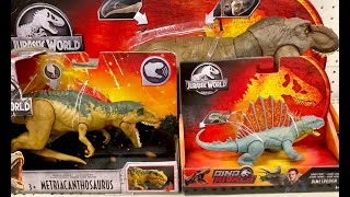 Jurassic World Dino Rivals Toy Hunting For One Month - Metriacanthosaurus Concavenator Dinosaur Toys