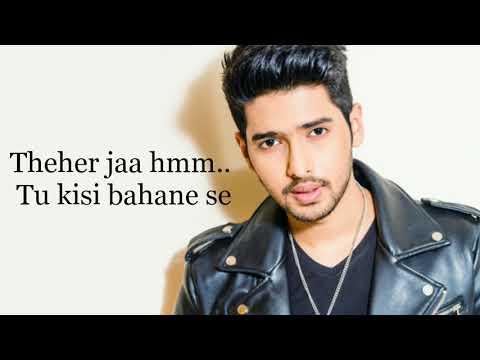 Theher Ja Song lyrics October movie Armaan Malik Varun Dhawan Banita Sandhu Abhishek Arora  