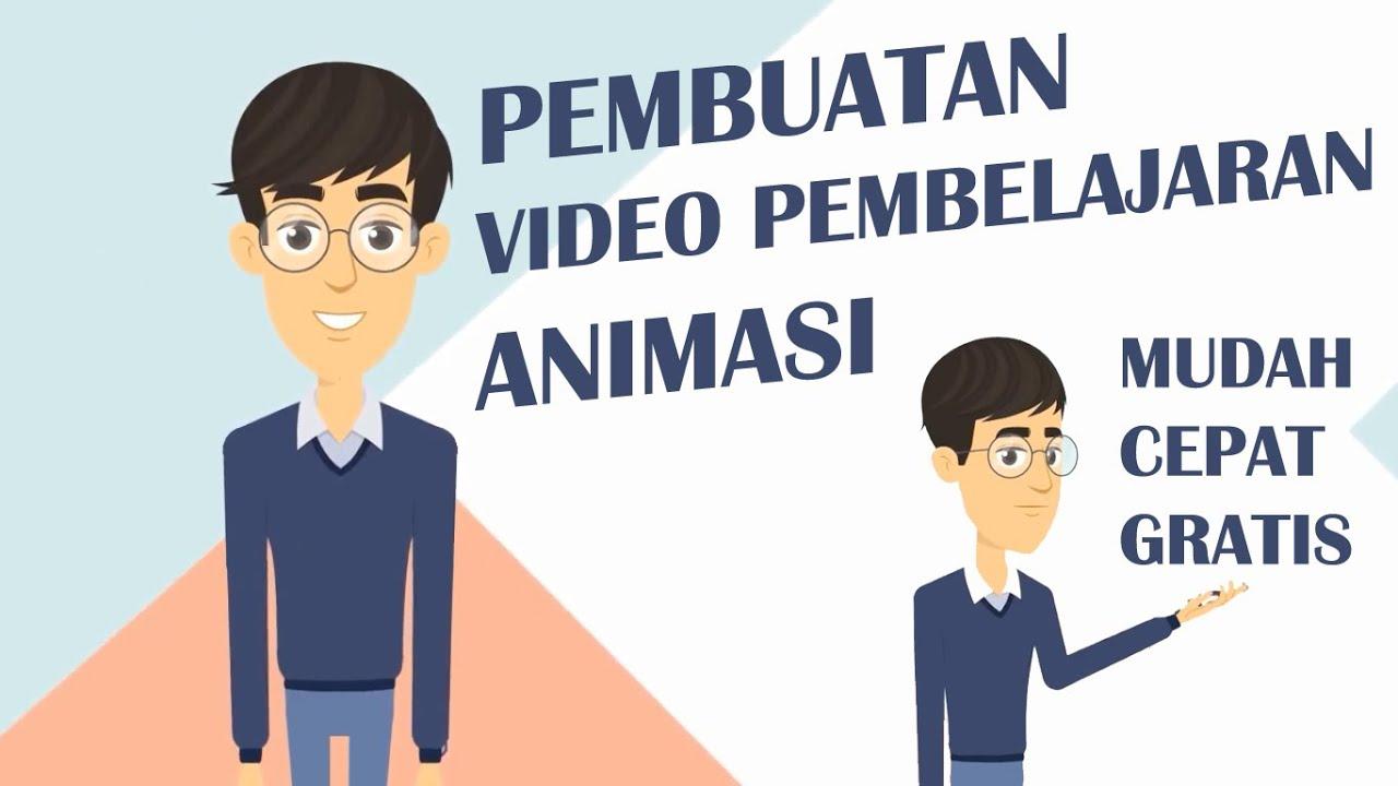 Cara Membuat Video Pembelajaran Animasi Dengan Animaker Youtube