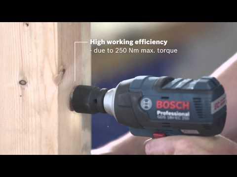 Bosch Cordless Impact Wrench | GDS 18 V-EC 250 Professional