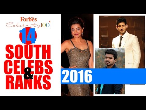 South actors in Forbes India Celebrity 100 - 2016   Mahesh Babu   Allu Arjun   Suriya   NTR   Vijay