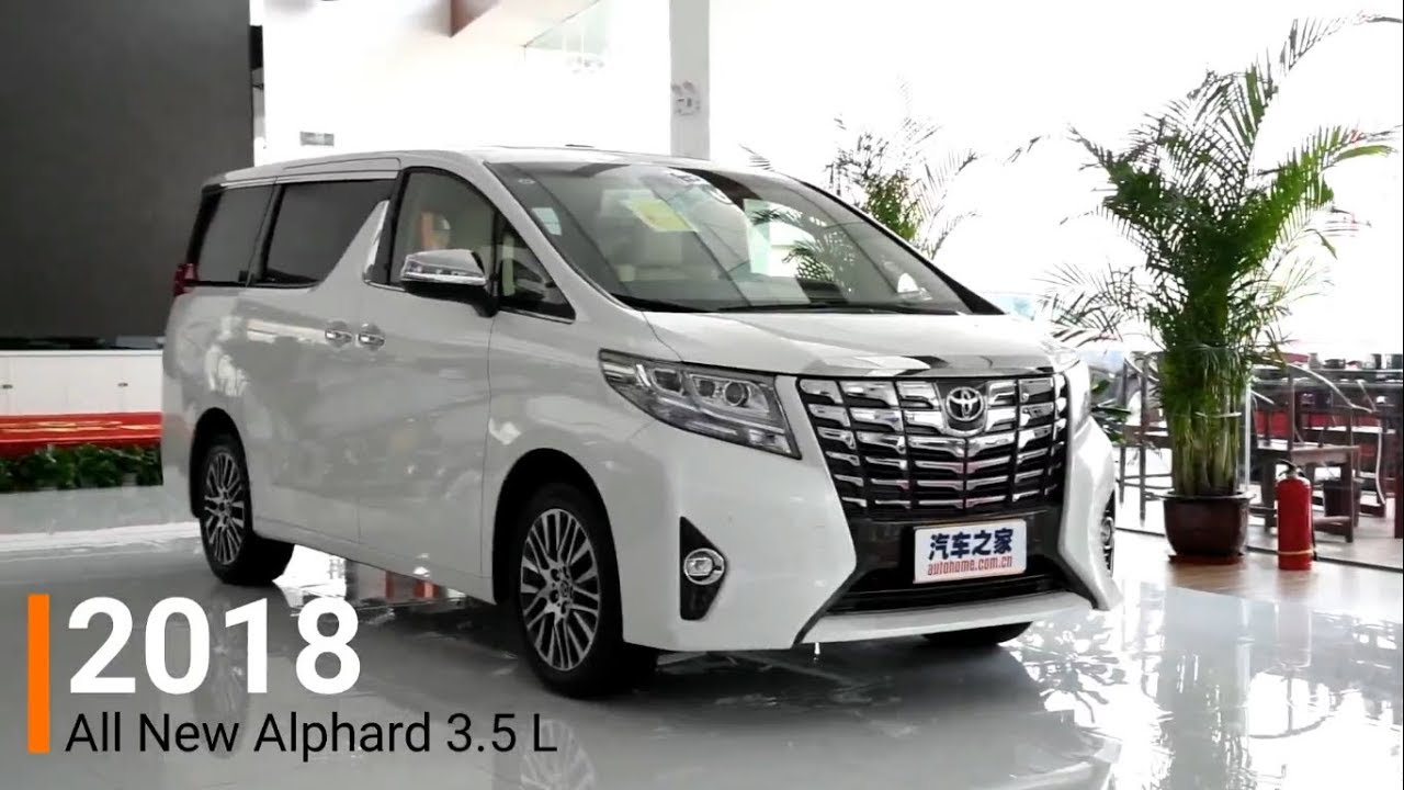 all new alphard harga yaris trd sportivo 2017 2018 3 5l review interior and exterior youtube