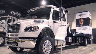 2019 Freightliner M2 106 Conventional Chassis - Exterior And Interior Walkaround - 2018 Truck World