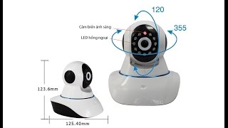 WS - Set Up WIFI Smart Net Camera V380 - Standard & APP-LINK
