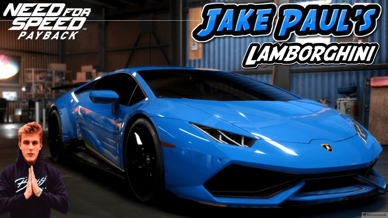 Need For Speed Payback Jake Paul S Lamborghini Huracan Performante