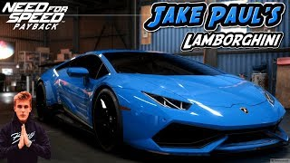 Need For Speed Payback Lamborghini Huracan