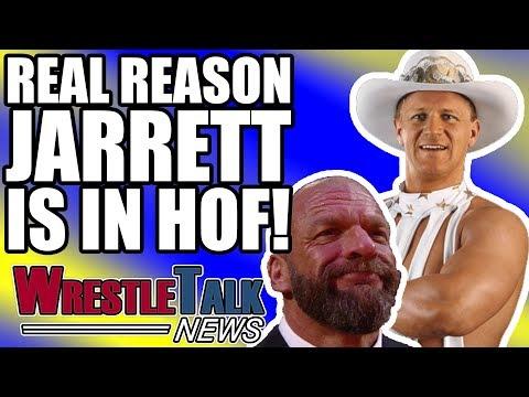 Real Reason Jeff Jarrett Going Into WWE Hall Of Fame?! | WrestleTalk News Feb. 2018