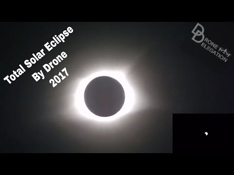 Total Solar Eclipse Drone Journey at Pilots Rock and Hopkinsville, Kentucky - August, 21st 2017