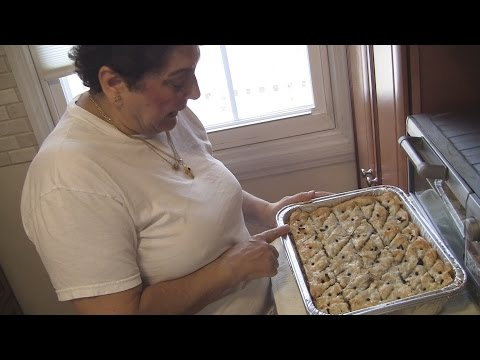 Angelo's Mom Makes Baklava (Greek Dessert Pastry)