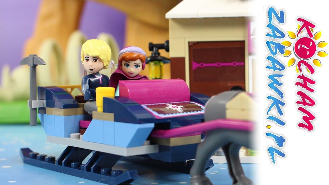 Gra Krainy Lodu Lego Disney Frozen Bajki I Gry Dla Dzieci Youtube