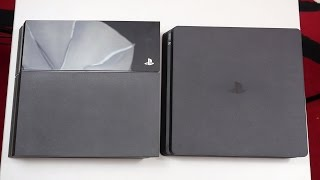 PS4 Slim vs Standard PS4 - Review & Comparison(Buy the PS4 Slim Here: Amazon US ..., 2016-09-07T19:07:43.000Z)