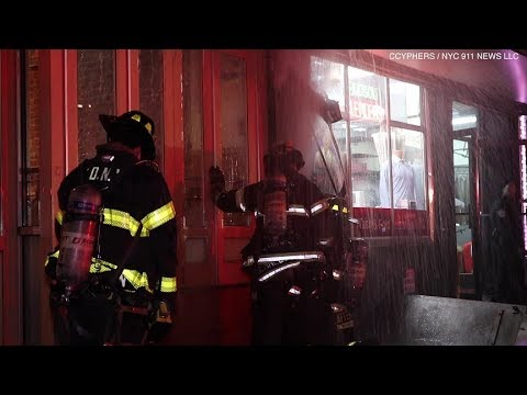 FDNY: Restaurant Fire, Broadway & W101 St
