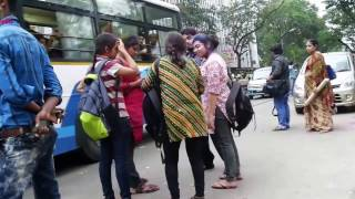 HOLI CELEBRATION AT KOLKATA INDIA 2017 || COLLEGE STUDENT CELEBRATE HOLI PART 2