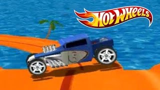 Juego de Autos 34: Hot Wheels Track Attack Random, Twin Mill III vs BoneShaker