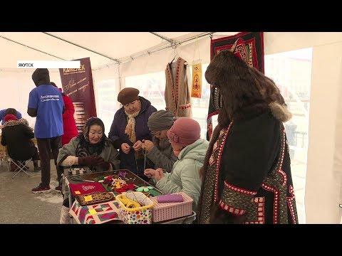 Ярмарка местных производителей проходит в центре Якутска