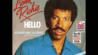 Lionel Richie - All Night Long (All Night) (Instrumental Version) [45 RPM]