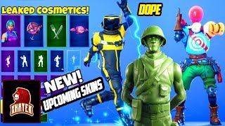 *NEW* Upcoming Fortnite Skins & Emotes (Howard the Alien,Breakpoint, Signature Shuffle,Toy Soldiers)