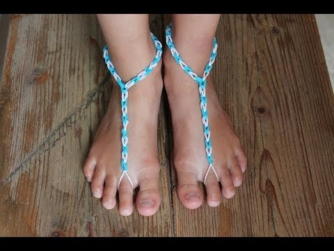 Rainbow Loom Nederlands, slipper zonder zool :-)