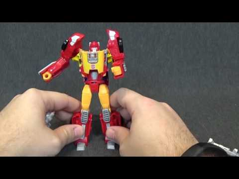 Hasbro Transformers Titans Return Deluxe Hot Rod Review
