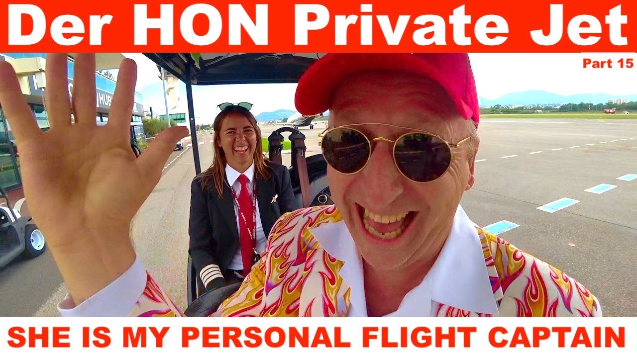 SHE IS MY PERSONAL FLIGHT CAPTAIN 🛩  GlobeAIR Part 15 ❤️ Der HON Private Jet
