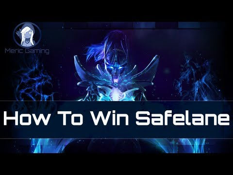 How To Win Safelane [ Carry Or Support ]