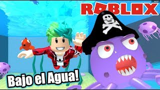 Underwater Adventures ? Giant Octopus in Roblox Roblox Karim Games Play