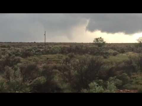 Tornado! Rare Santa Fe New Mexico