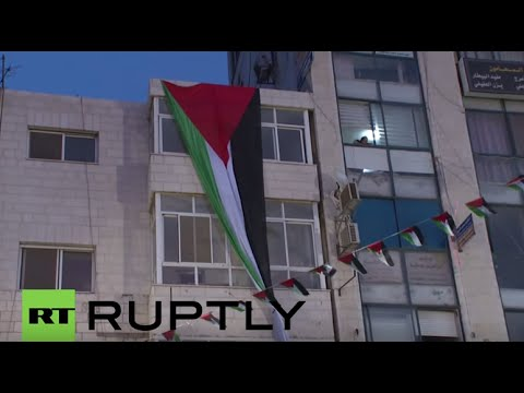 State of Palestine: Thousands celebrate raising of Palestinian flag at UN
