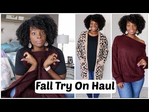 FALL TRY ON HAUL | Amazon, Target, Old Navy