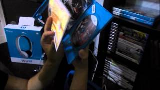 UNBOXING Tekken tag tournament 2 Wii u + Turtle beach nla