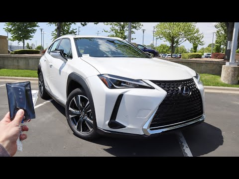 2021 Lexus UX250h: Start Up, Walkaround, Test Drive and Review