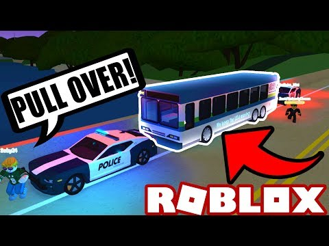 BUS DRIVER POLICE CHASE!! (Roblox Ultimate Driving: Westover Islands) #4