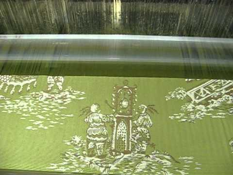 27th Annual Lee Academy -Fabric Being Woven on a Jacquard Loom.AVI
