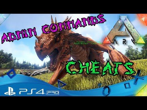 ARK PS4 🇩🇪 - CHEATS und ADMIN COMMANDS / ANFÄNGER- ARK Survival Evolved Playstation 4 Deutsch