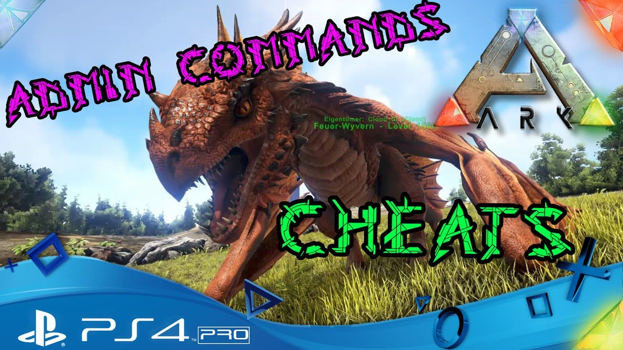 Ark ps4 cheats und admin commands anfnger ark survival ark ps4 cheats und admin commands anfnger ark survival evolved playstation 4 deutsch malvernweather Image collections
