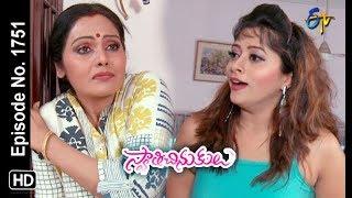 Swathi Chinukulu   12th April 2019   Full Episode No 1751   ETV Telugu