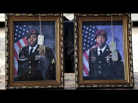 82d Airborne: 9-9-17. Memorial For Two Soldiers w/ 2nd BCT Who Were Killed In Northern Iraq.