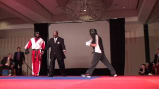 Michael Anderson vs Richard Continuous Sparring Grand Championship Round 2 at Battle of Atlanta 2011