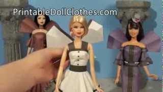 Printable Doll Clothes Wings