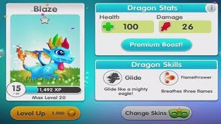 Evolved My Dargon!! - Dragon Land - Dragon City 3D Game - Episode 4 Levels 4 - 5
