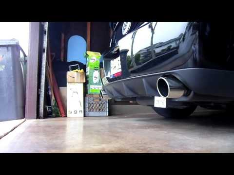 2009 Shelby GT500 Exhaust  Note Changed With New Throttle Body And Tune