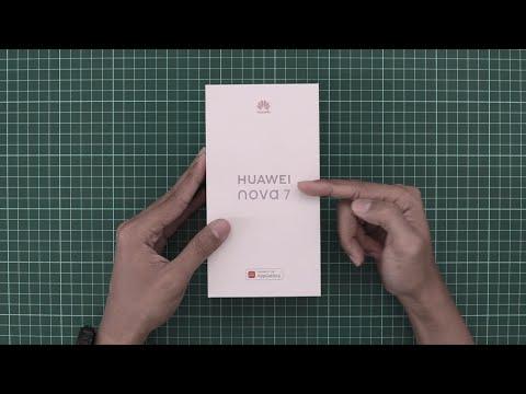 UNBOXING HUAWEI NOVA 7 INDONESIA