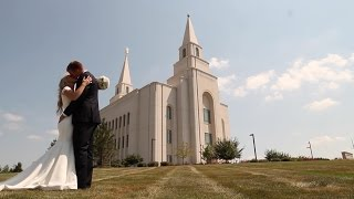 Kailey + Matt | KC Temple Wedding