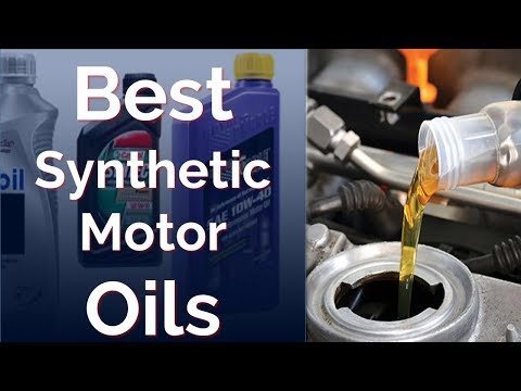 Top 8 Best Synthetic Oils 2018 - Synthetic Motor Oils Review
